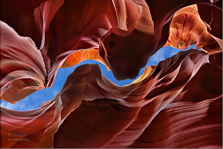 surreal places: Antelope Canyon United States