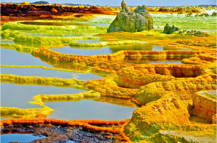 surreal places: Dallol volcano Ethiopia