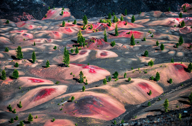 Luoghi surreali: Lassen Volcanic National Park United State of America