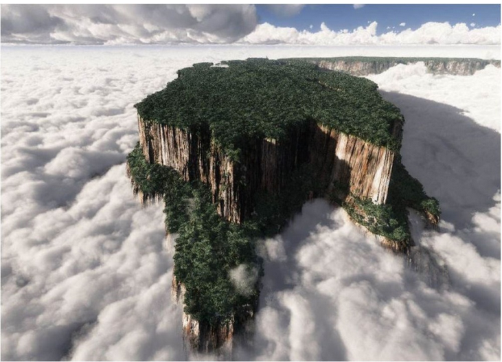 Luoghi surreali: Mount Roraima in Venezuela