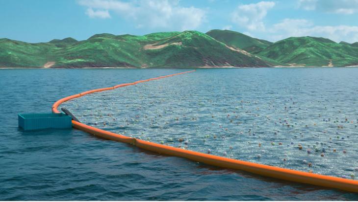 The incredible invention of a young boy for Clean Oceans