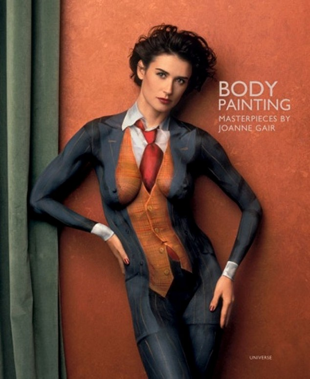 body painting - anche donne famose si fanno pitturare