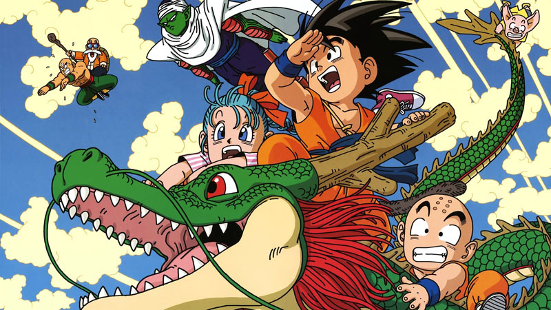 Dragon Ball, manga giapponese