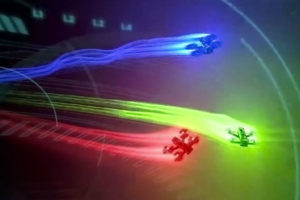drone racing, gare di droni in tv